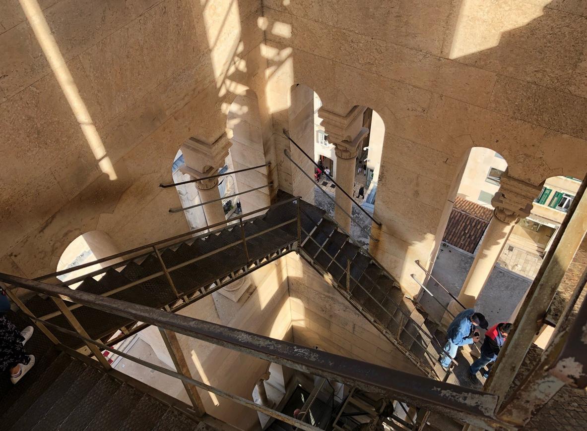 Подъём на колокольню Кафедрального собора