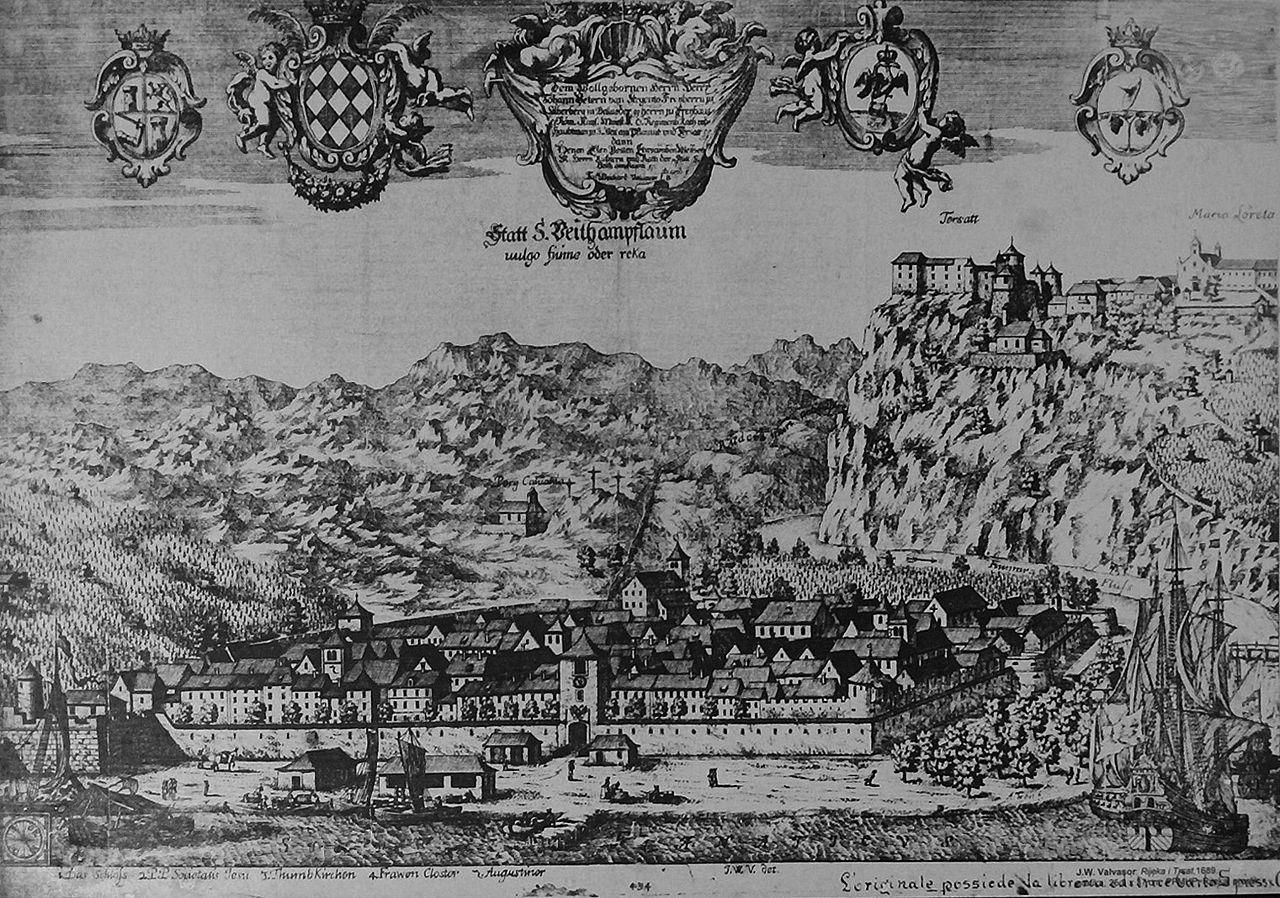 Риека и Трсат в 1689 году
