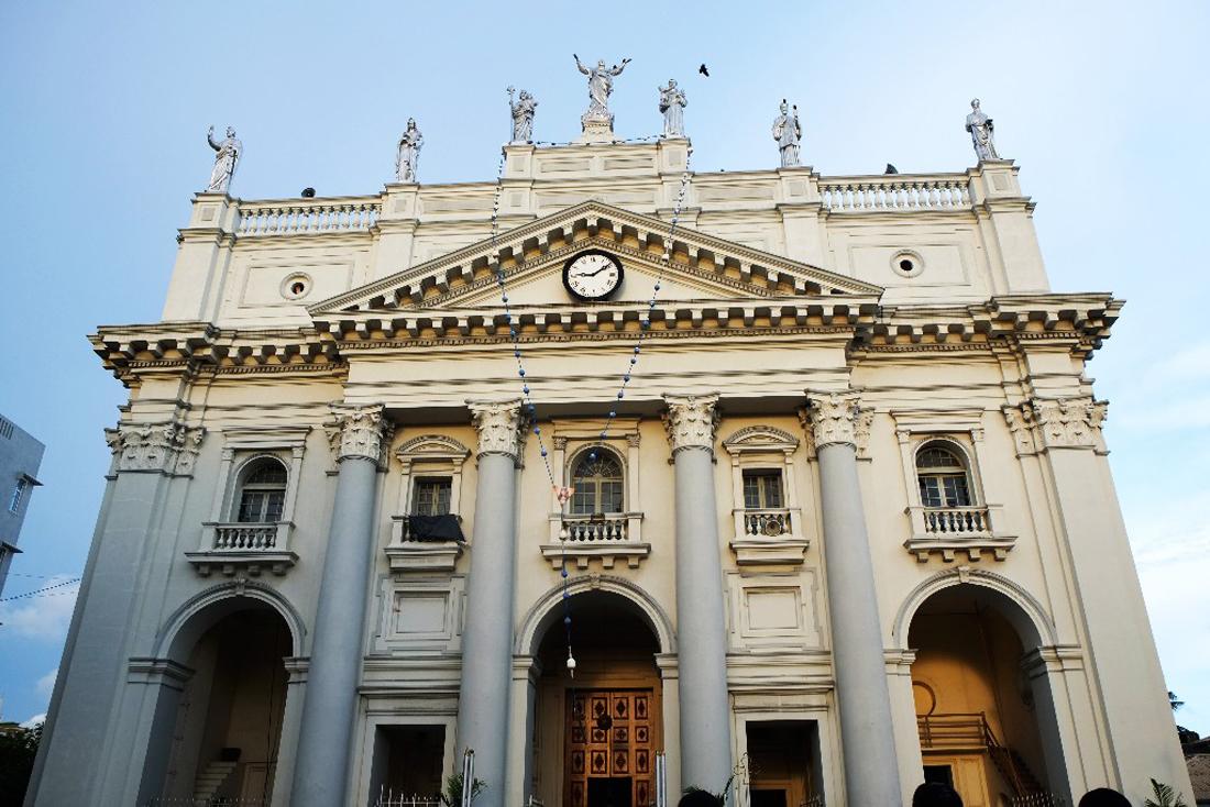 Собор Святой Люции в Коломбо