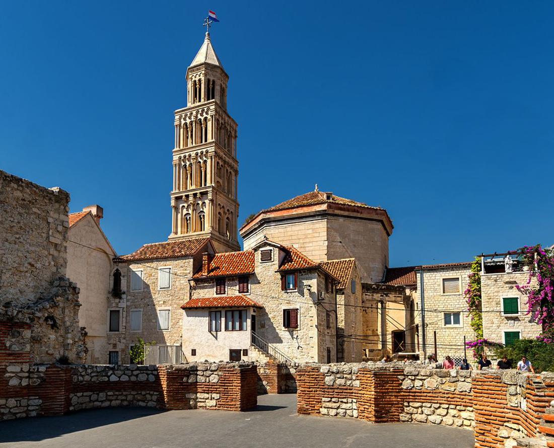 Сплитский храм колокольня Святого Домна