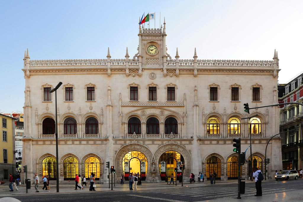 Станция Rossio в Лиссабоне