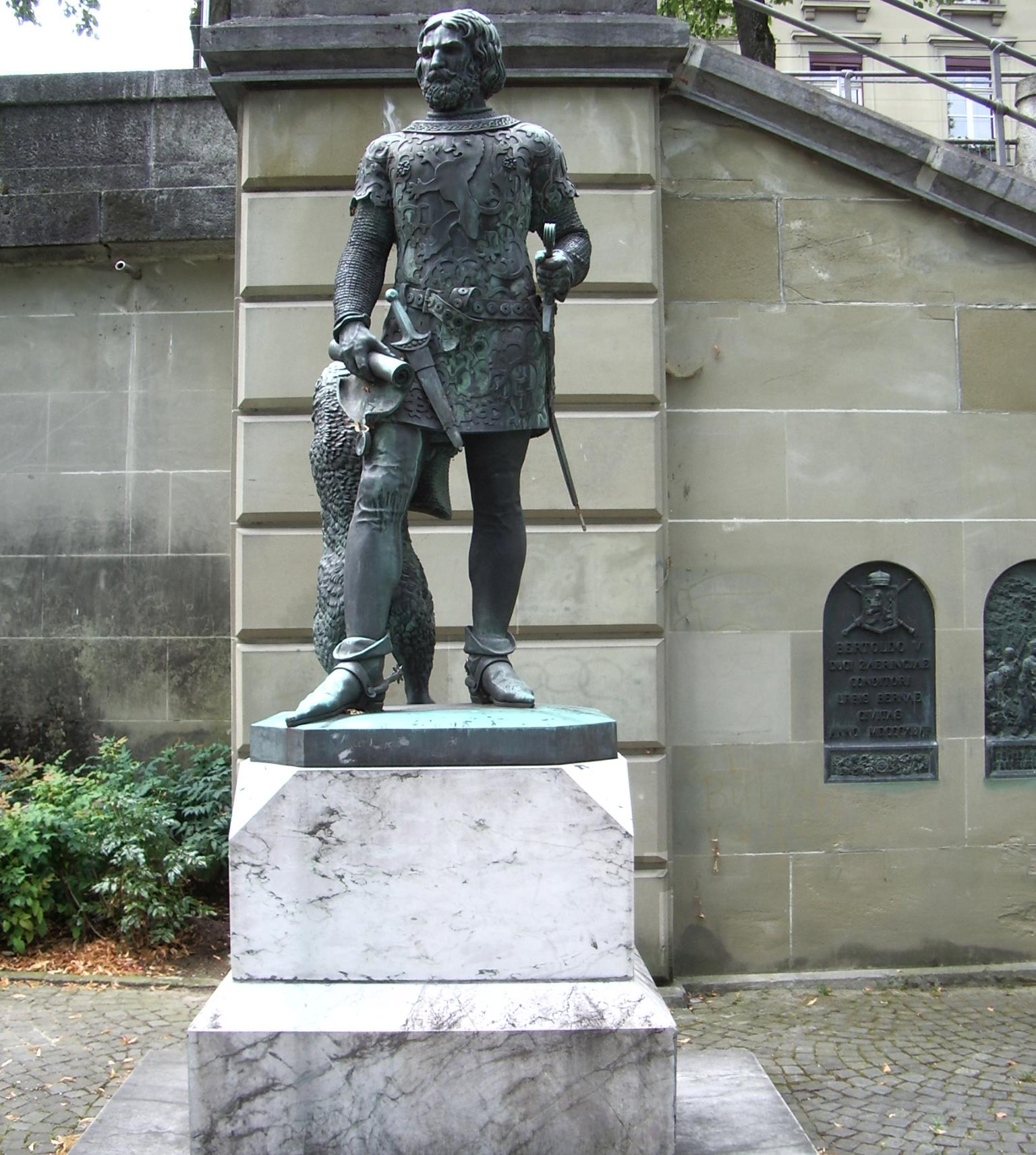 Статуя Бертольда V
