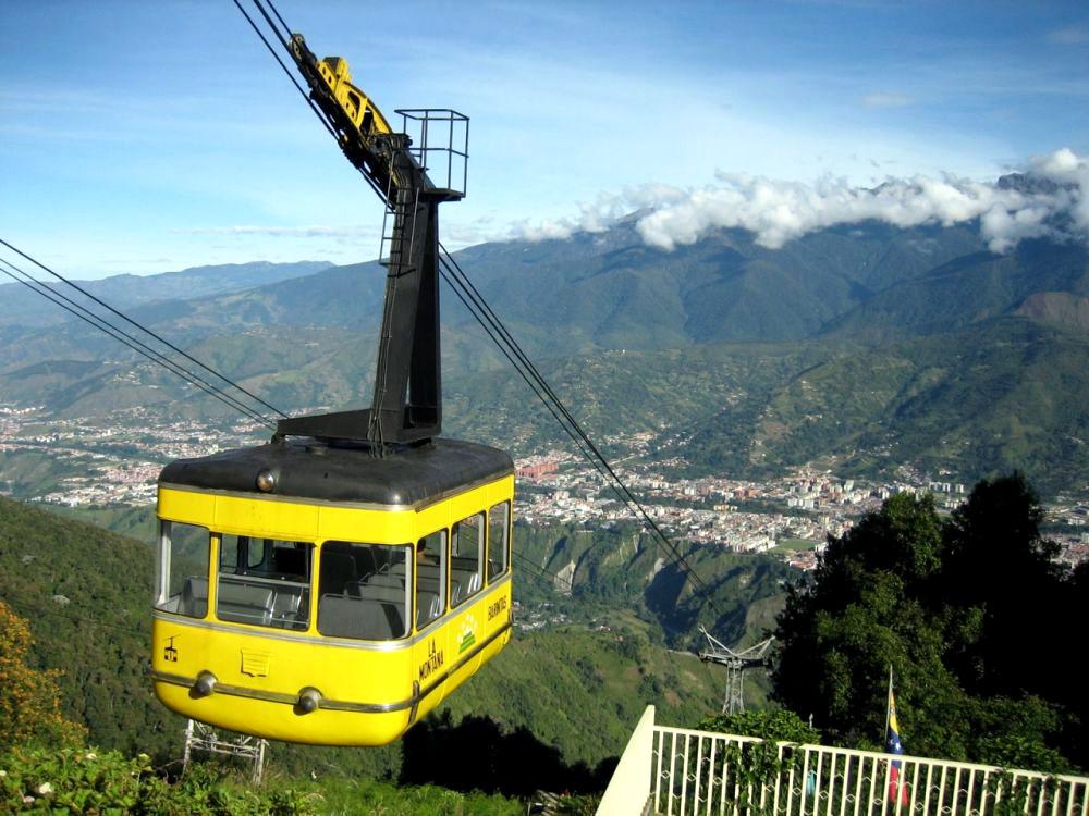 Подъёмник Телерифико-де-Мерида в Венесуэле