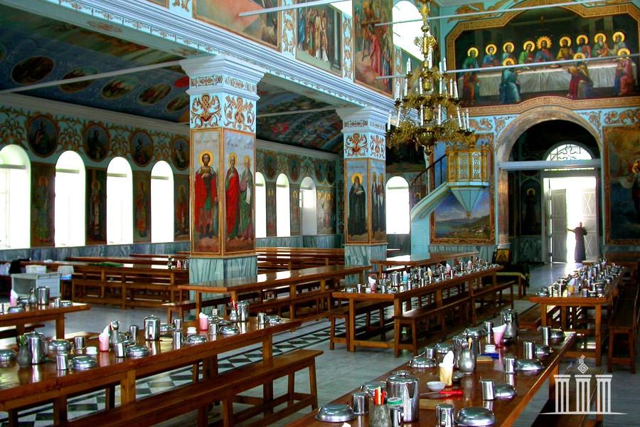 Трапезная монастыря Св. Пантелеймона