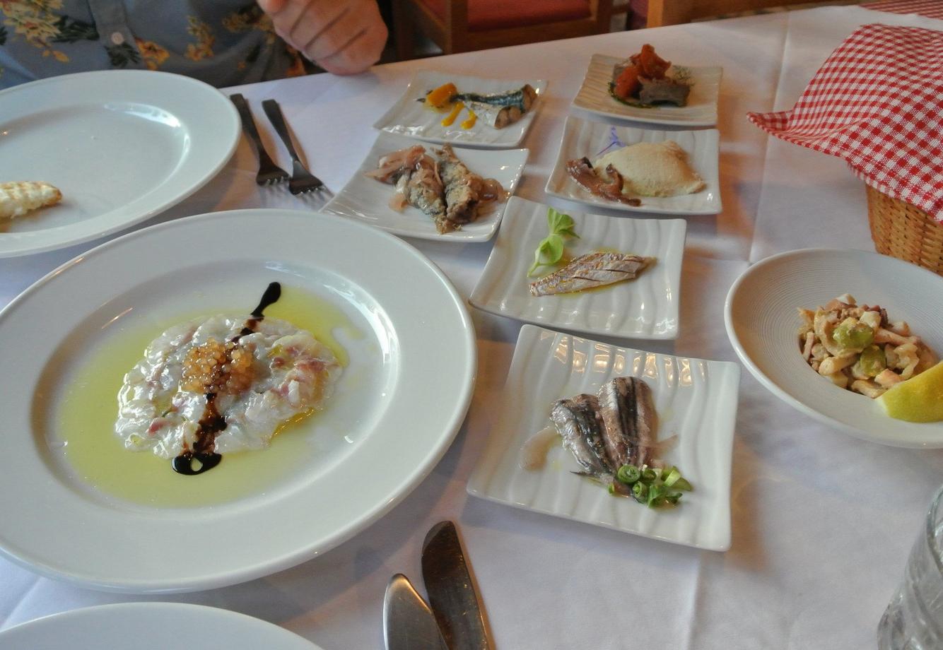 Ужин в ресторане Konoba Batelina