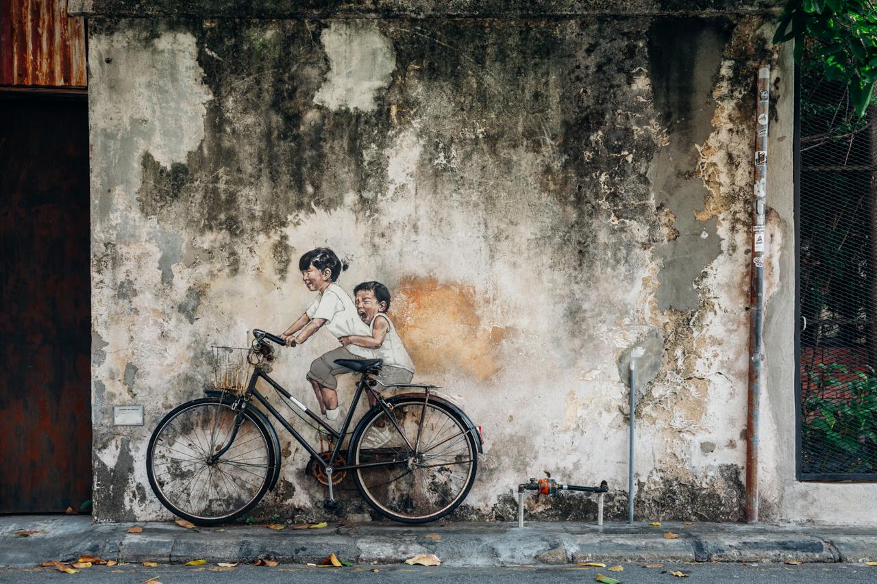 Уличное искусство в Джорджтауне