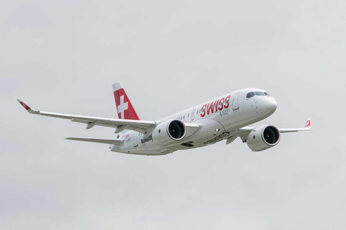 Самолет до аэропорт рядом с Берном