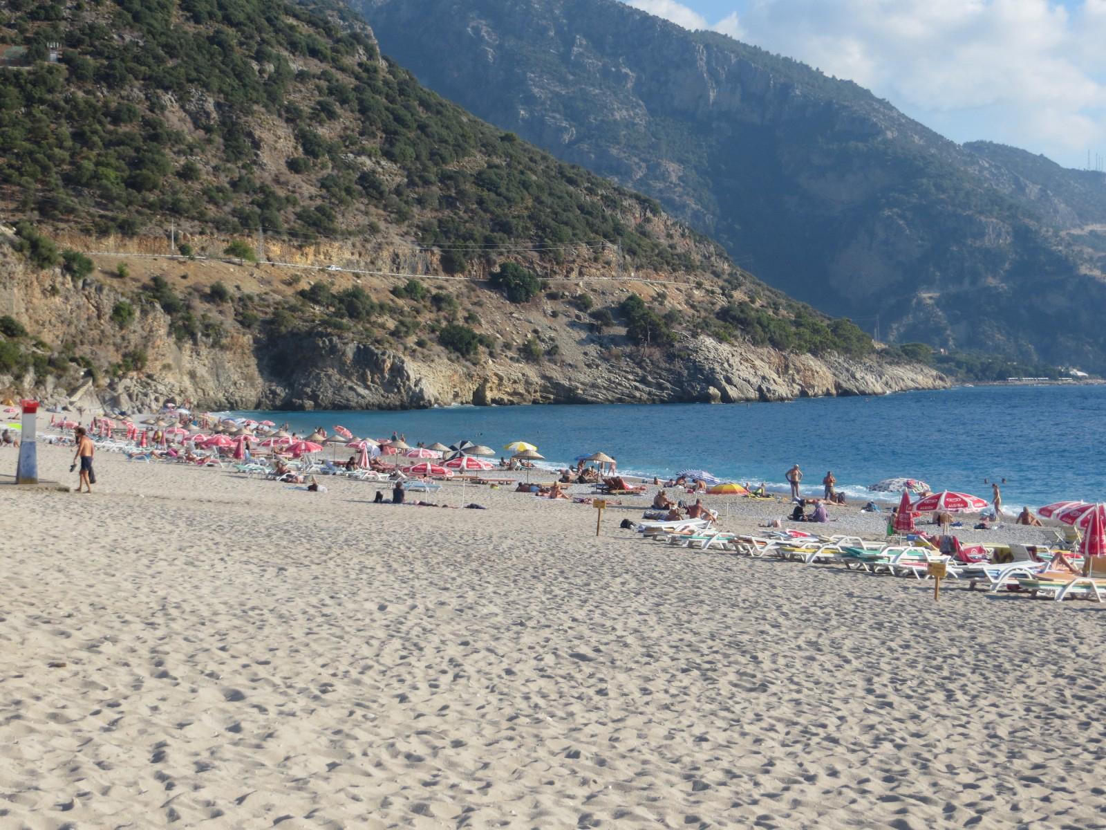 На пляже Belcekiz beach