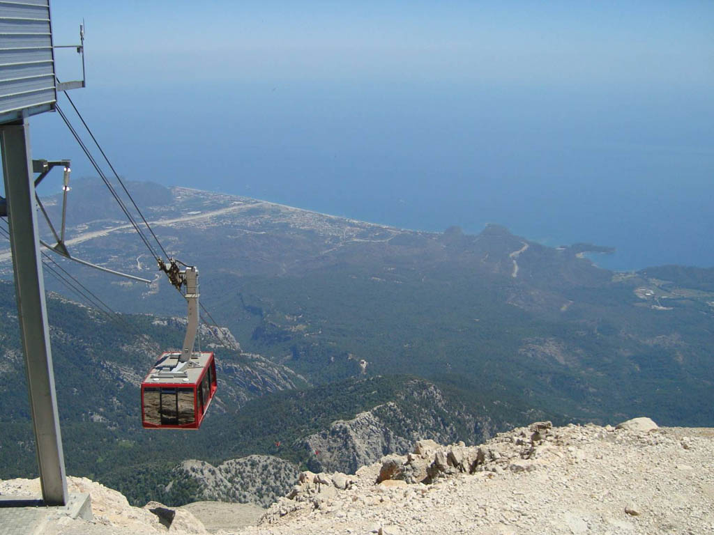 Фуникулер на гору Тахталы