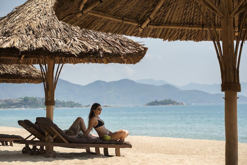 Частный пляж отеля InterContinental Nha Trang