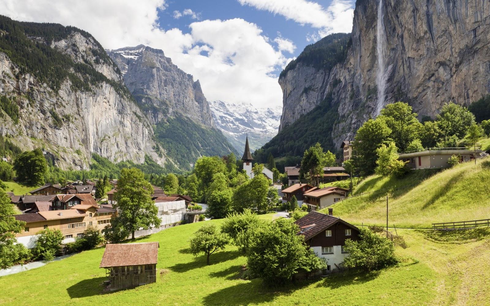 Швейцарский Лаутербруннен