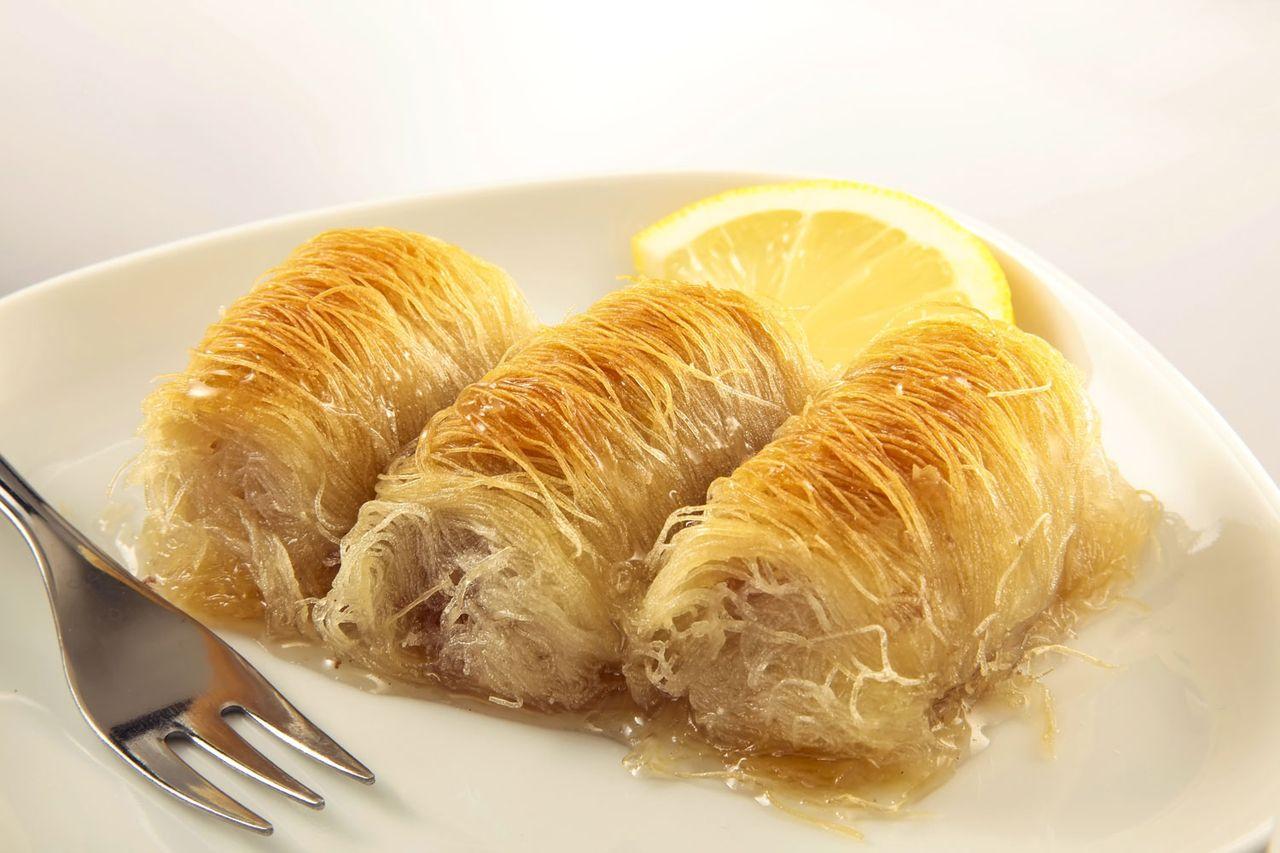 Турецкая сладость - кадаиф