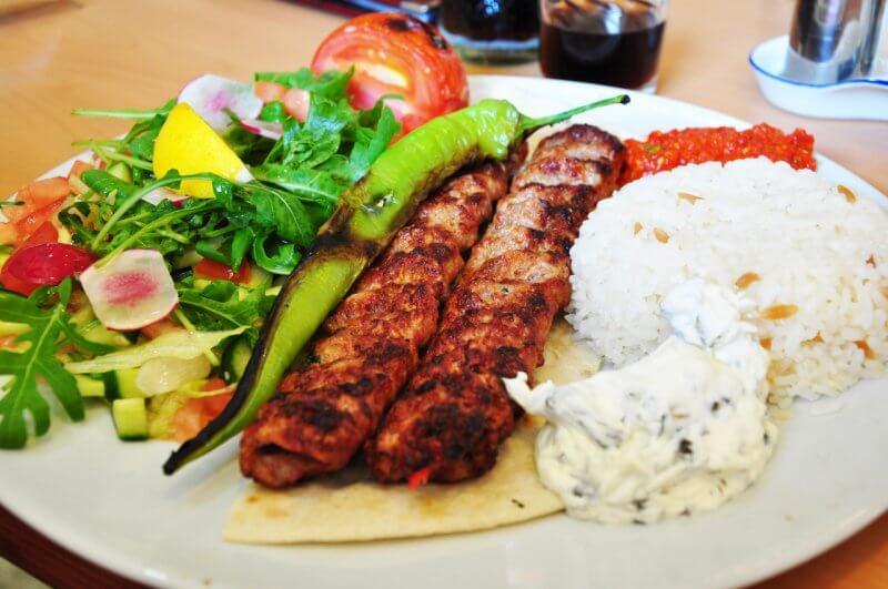 Блюда турецкой кухни
