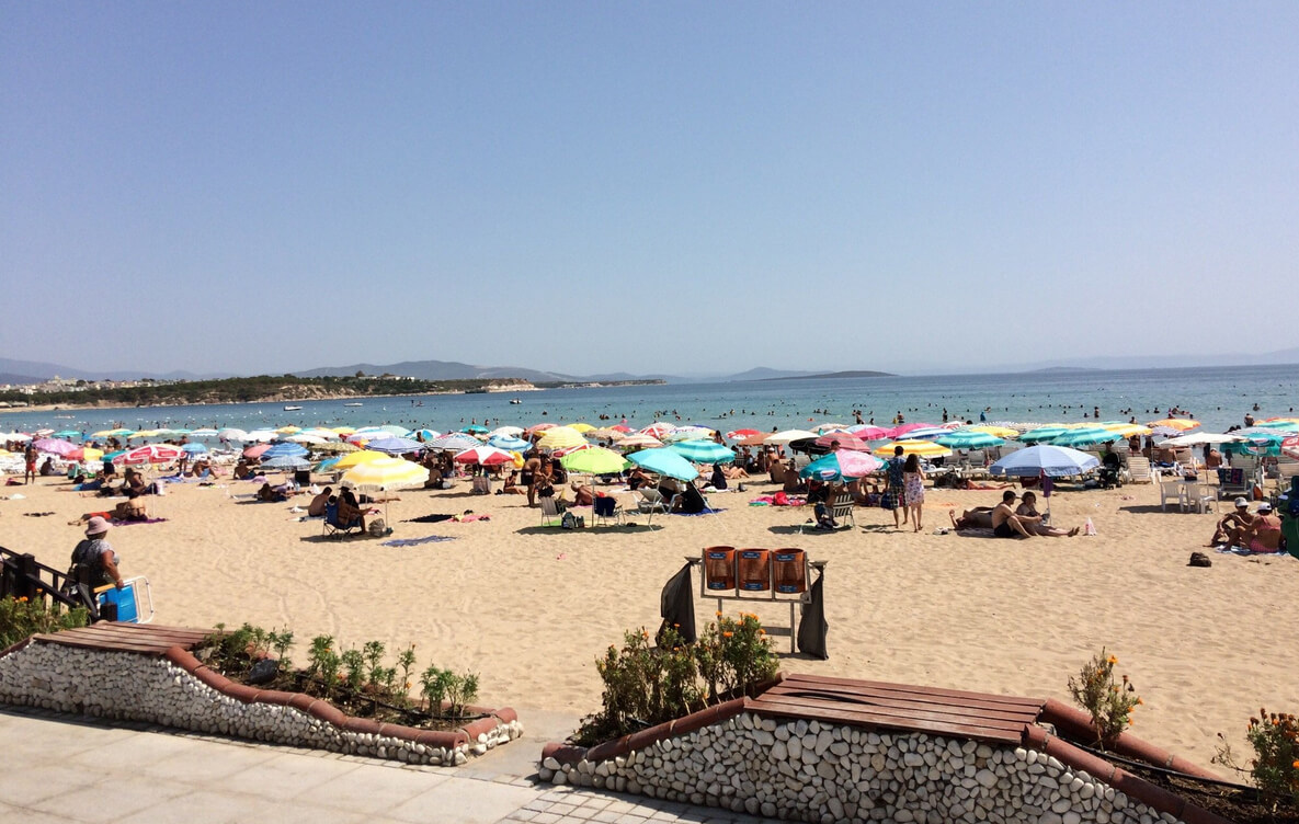 Altinkum Beach в Турции