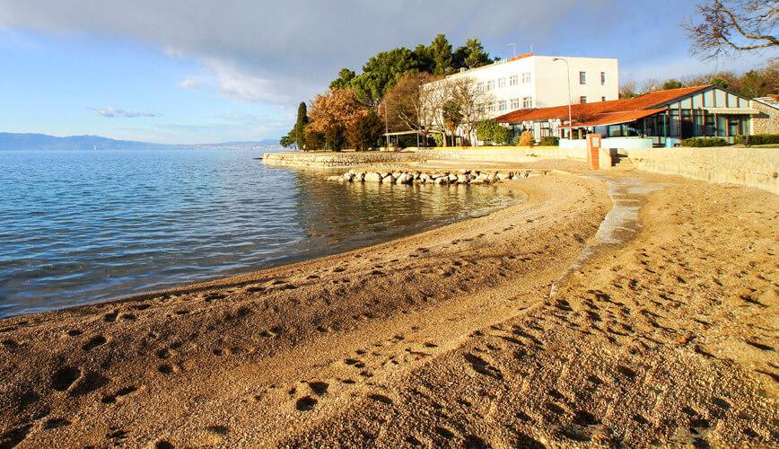 Пляж Beach Haludovo