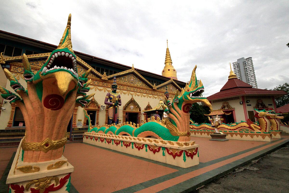 Бирманский храм Дхармикарама (Dharmikarama Burmese Temple)