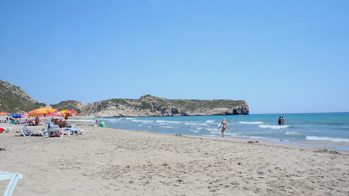 Пляж Patara Beach
