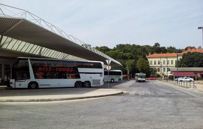 Автовокзал города Пула