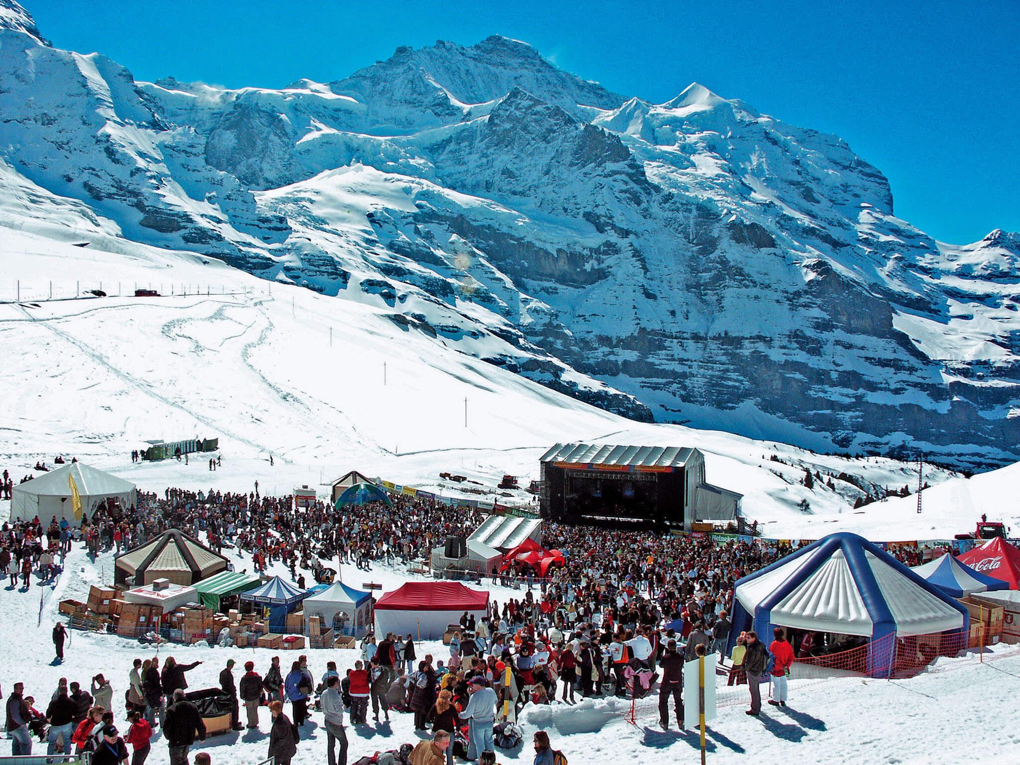 Музыкальный фестиваль Snowpenair