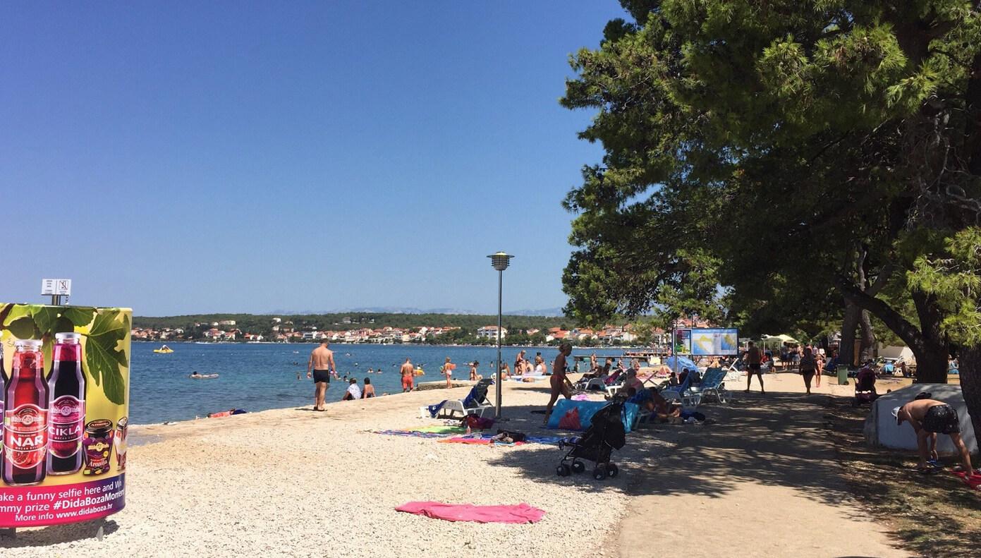 Пляж Борик