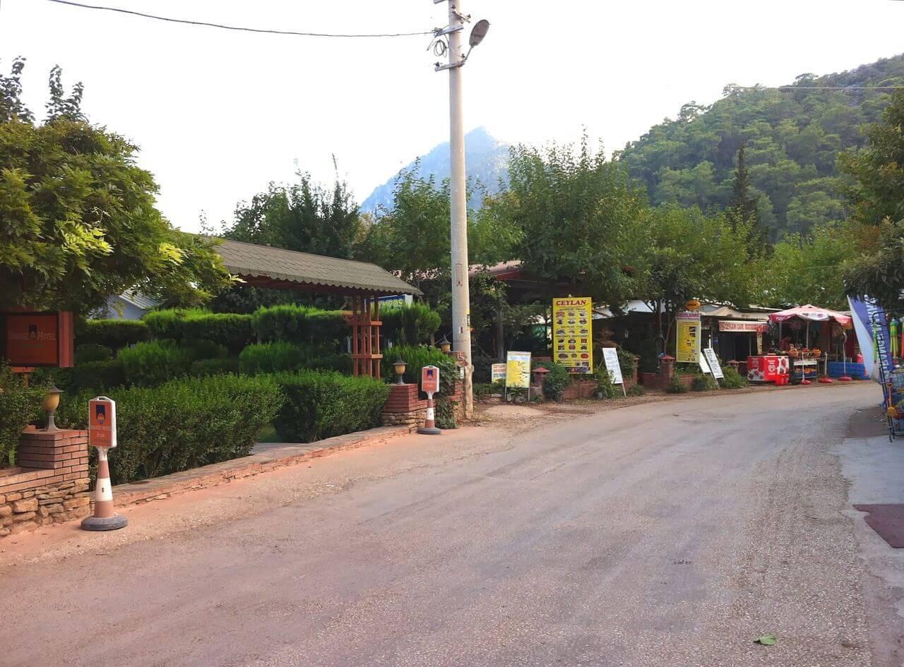 Главная улица в Чирали