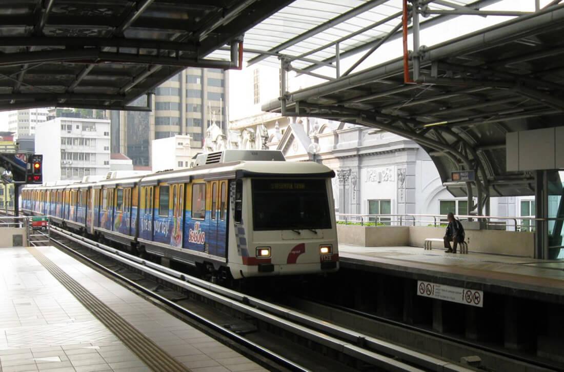 Платформа городского метро