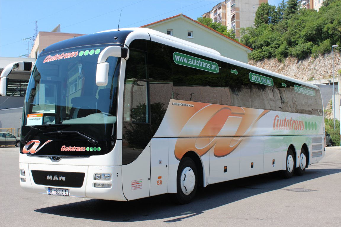 Автобус Загреб-Опатия