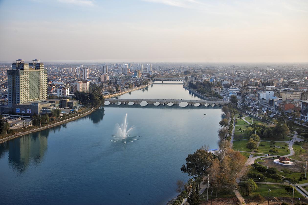 Адана на берегах реки Сейхан