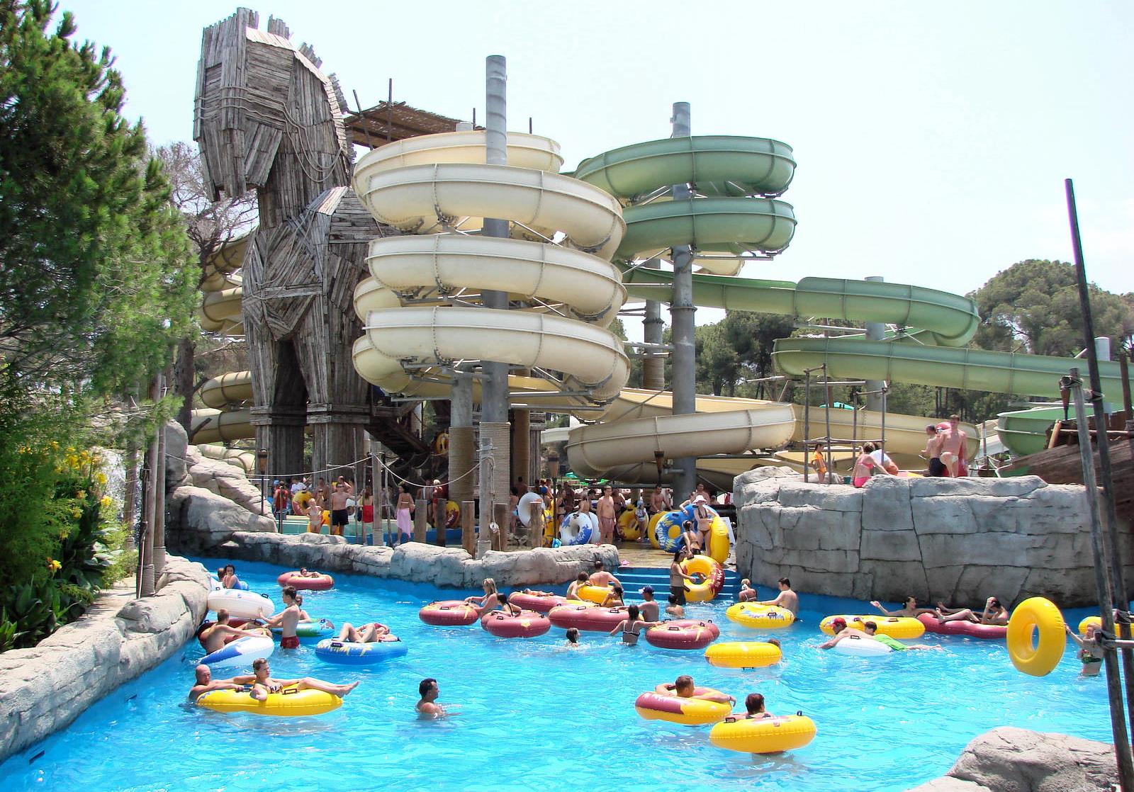 Аквапарк Троя в Белеке, Турция