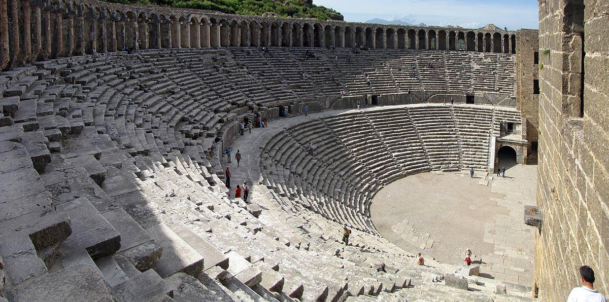Амфитеатр города Аспендос