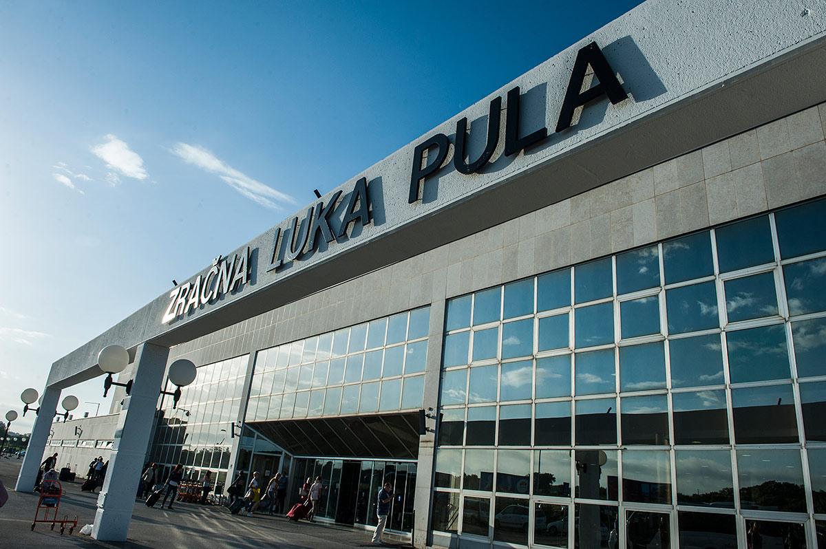 Аэропорт Пула, Зорватия