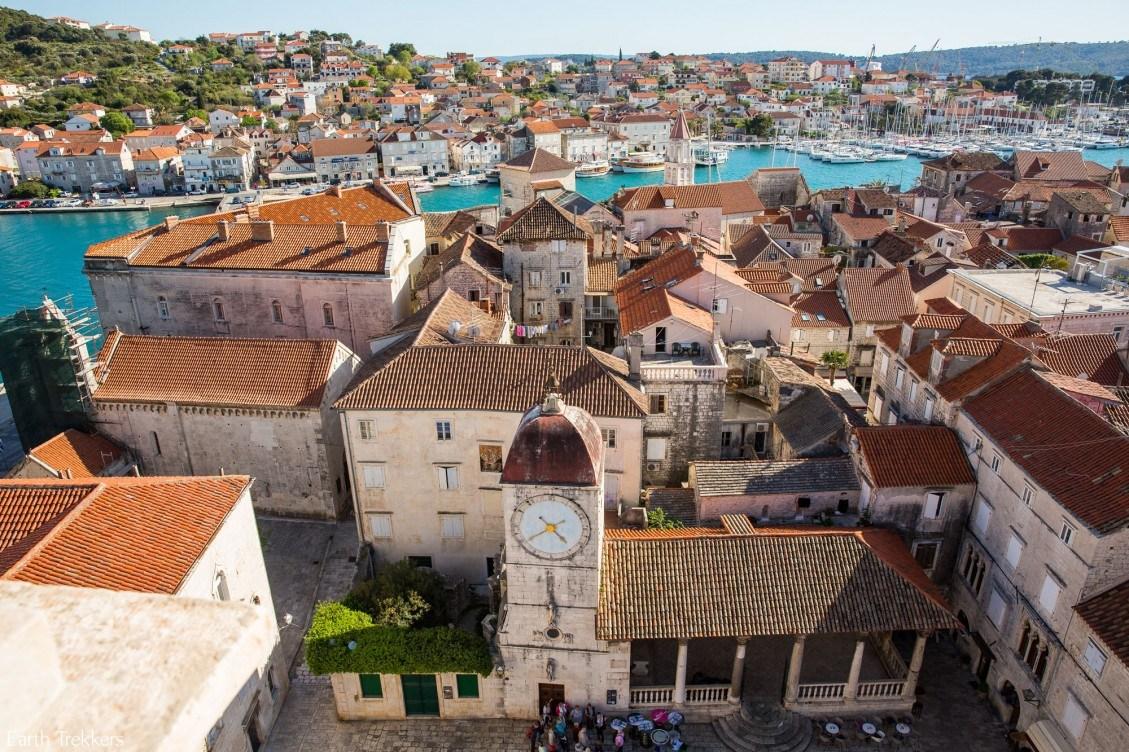 Вид на город Трогир