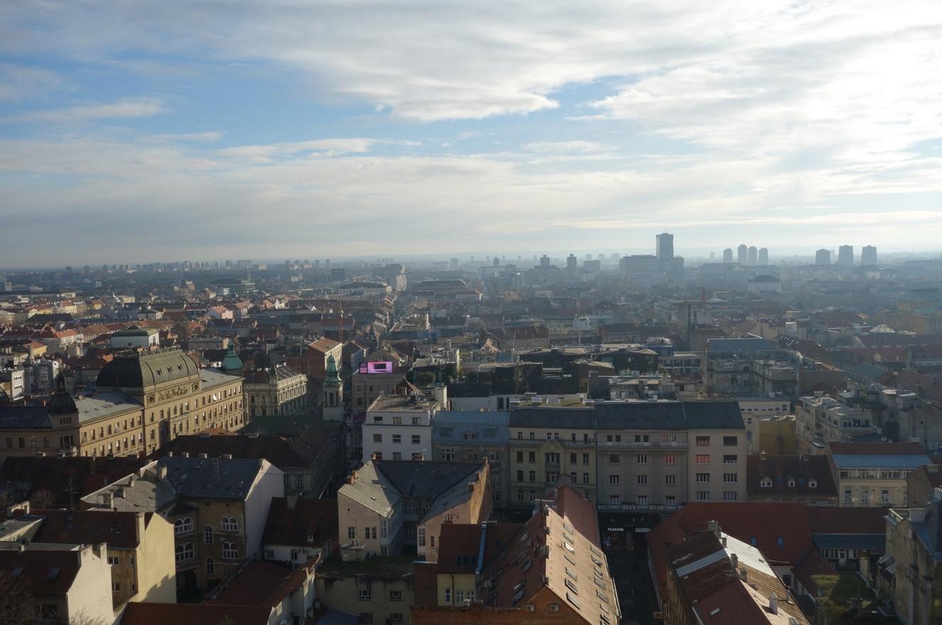 Вид с башни Лотрщак