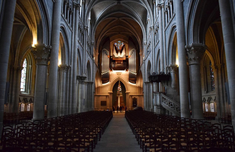 В кафедральном соборе Лозанны