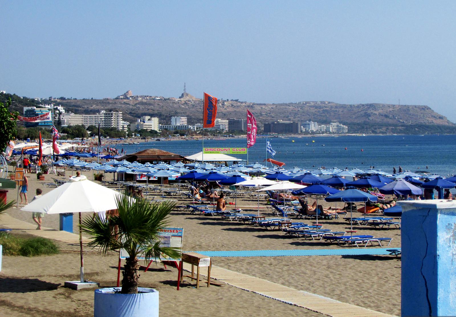 Главный пляж Фалираки
