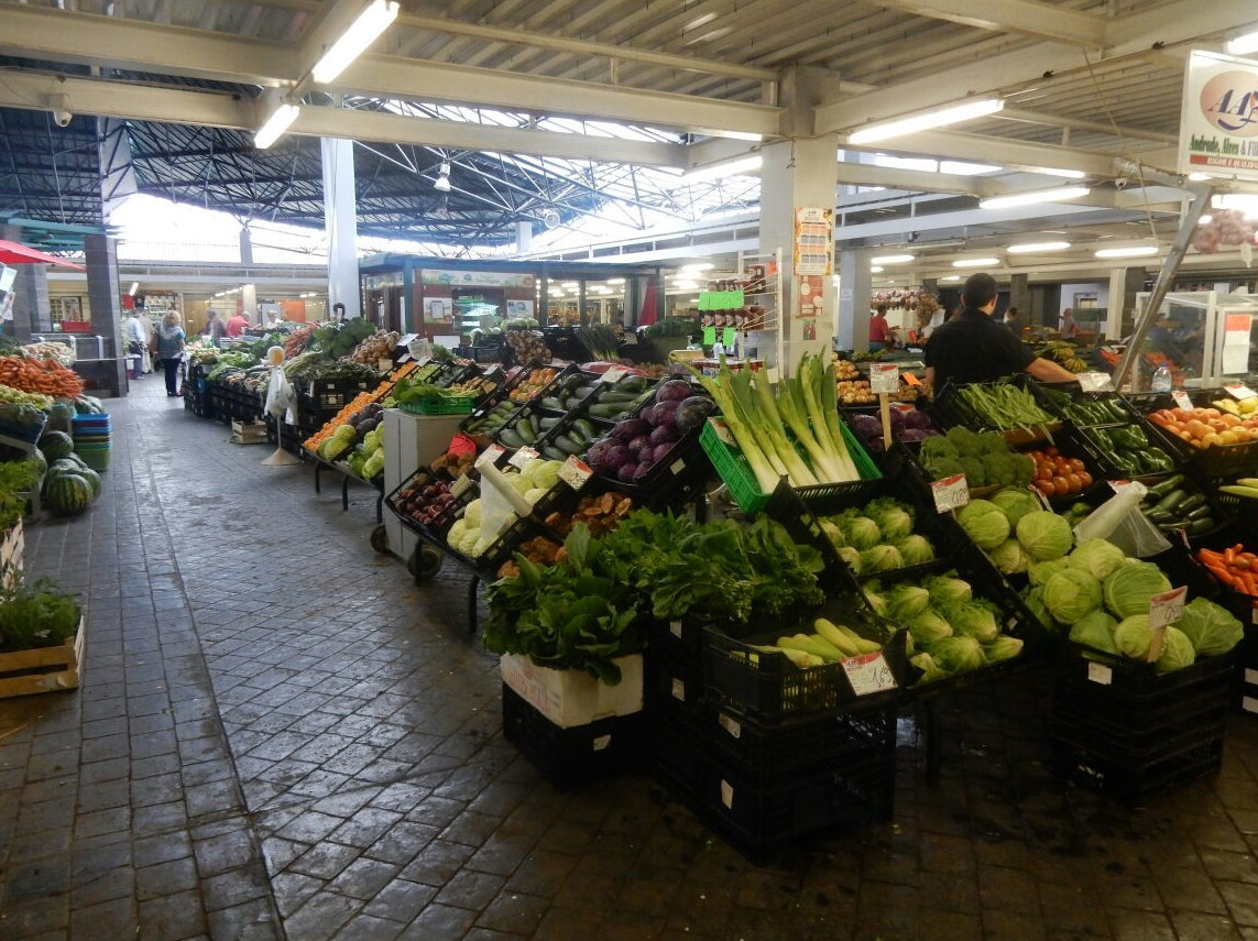 Главный рынок Понта-Делгада