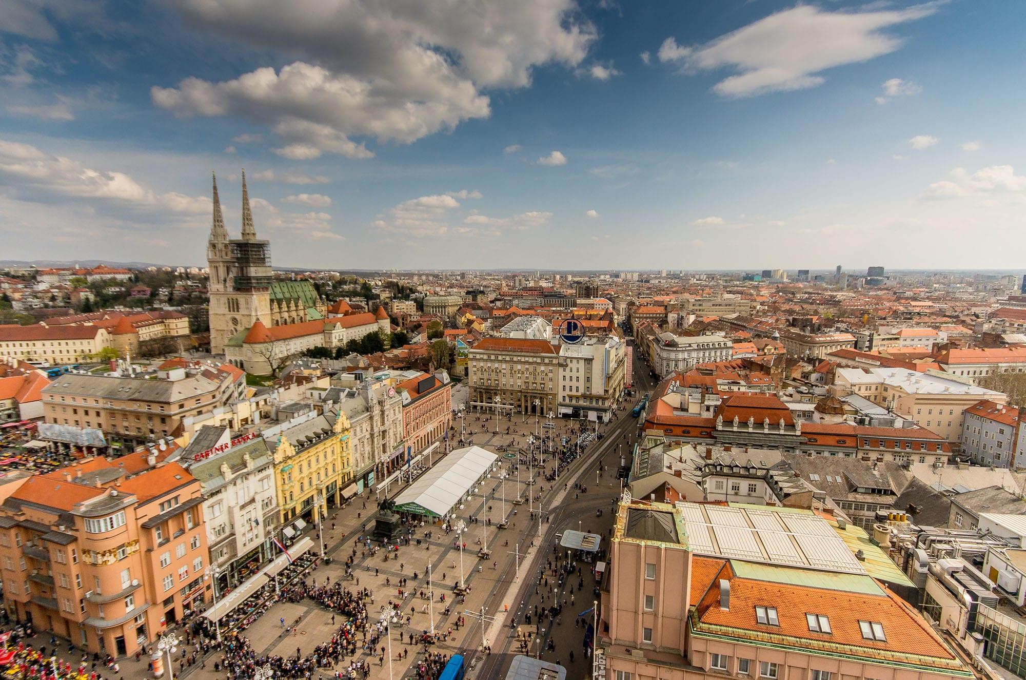 Город Загреб, Хорватия