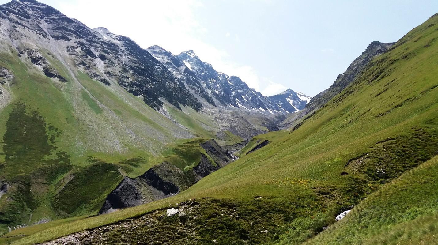 Горы Тушетии