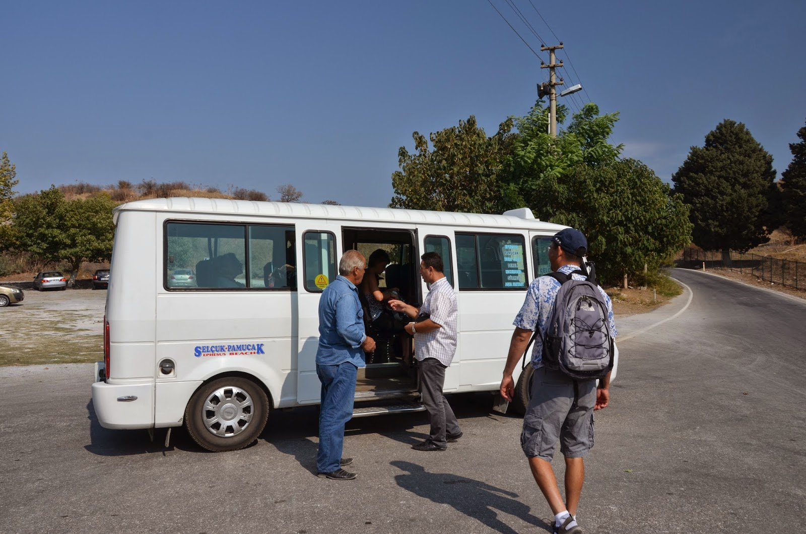 Долмуш до Эфеса