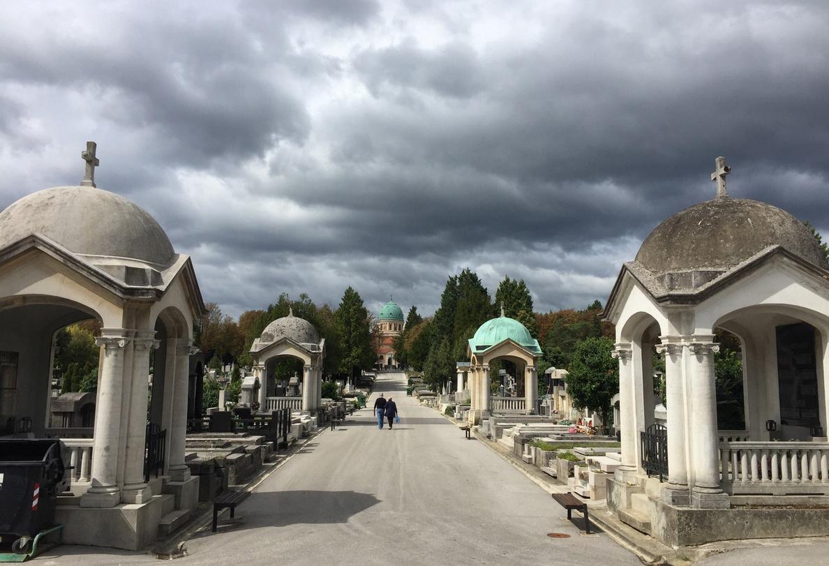 Захоронения на Мирогойском кладбище