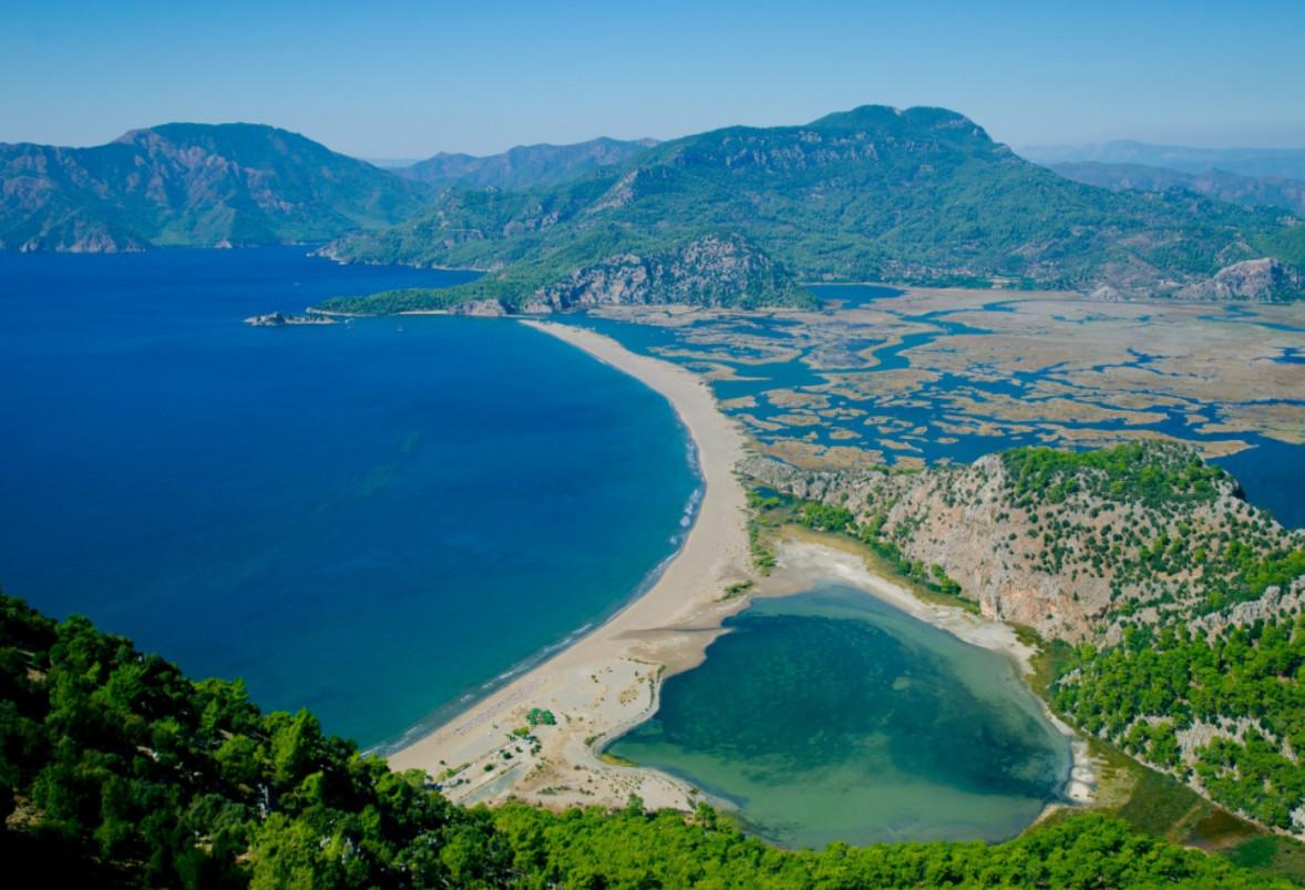 Турция, природа в регионе Дамалан