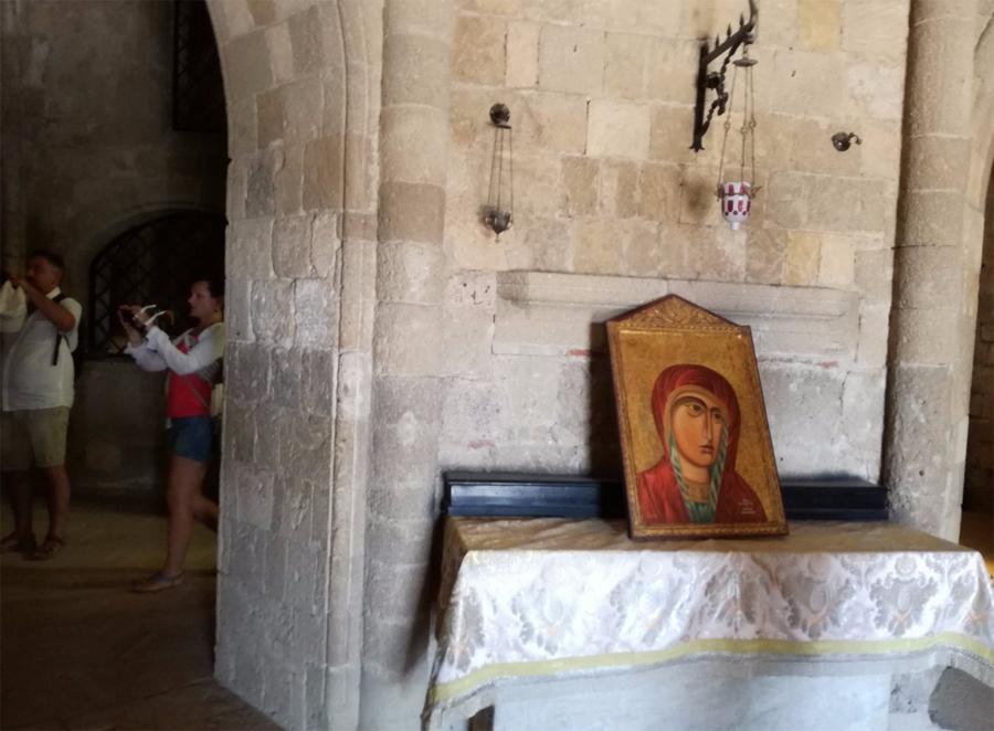Икона в монастыре Филеримос