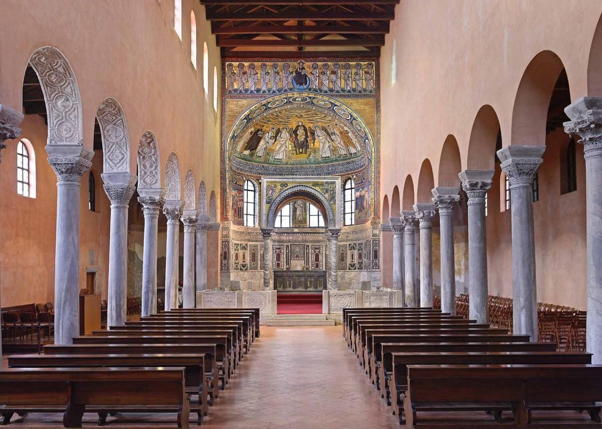 В Евфразиевой базилике