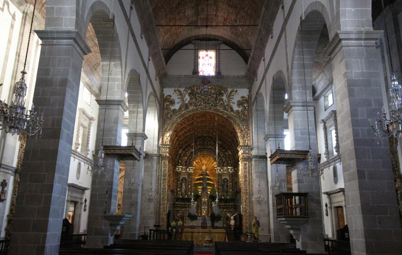 Интерьер церкви Сан-Жозе