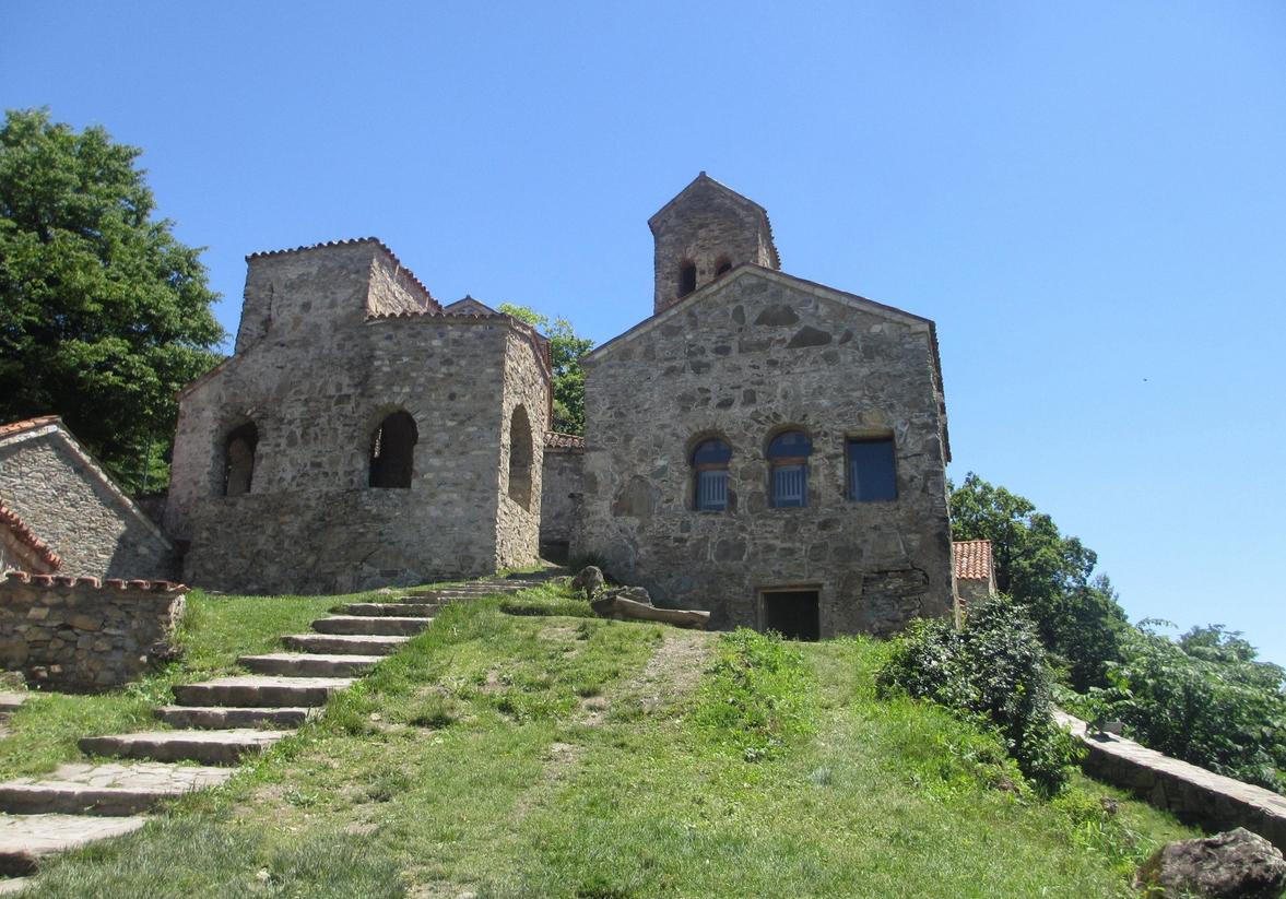 Монастырский комплекс Некреси