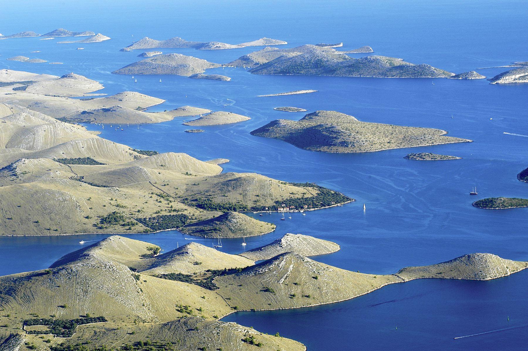 Острова Национального парка Корнати