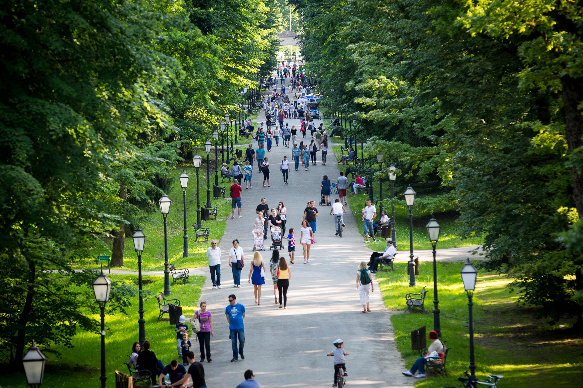 Парк Максимир, Загреб