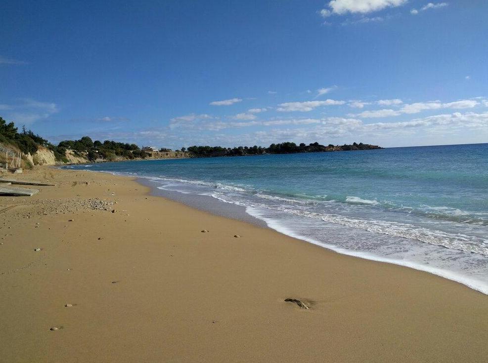 Песчаный пляж Плакия