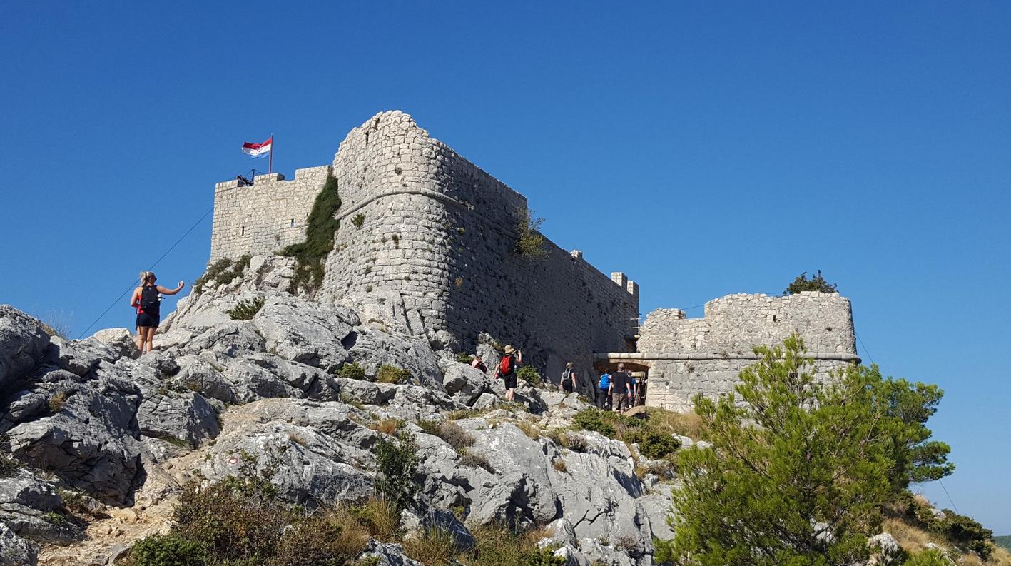 Пиратская крепость Омиша