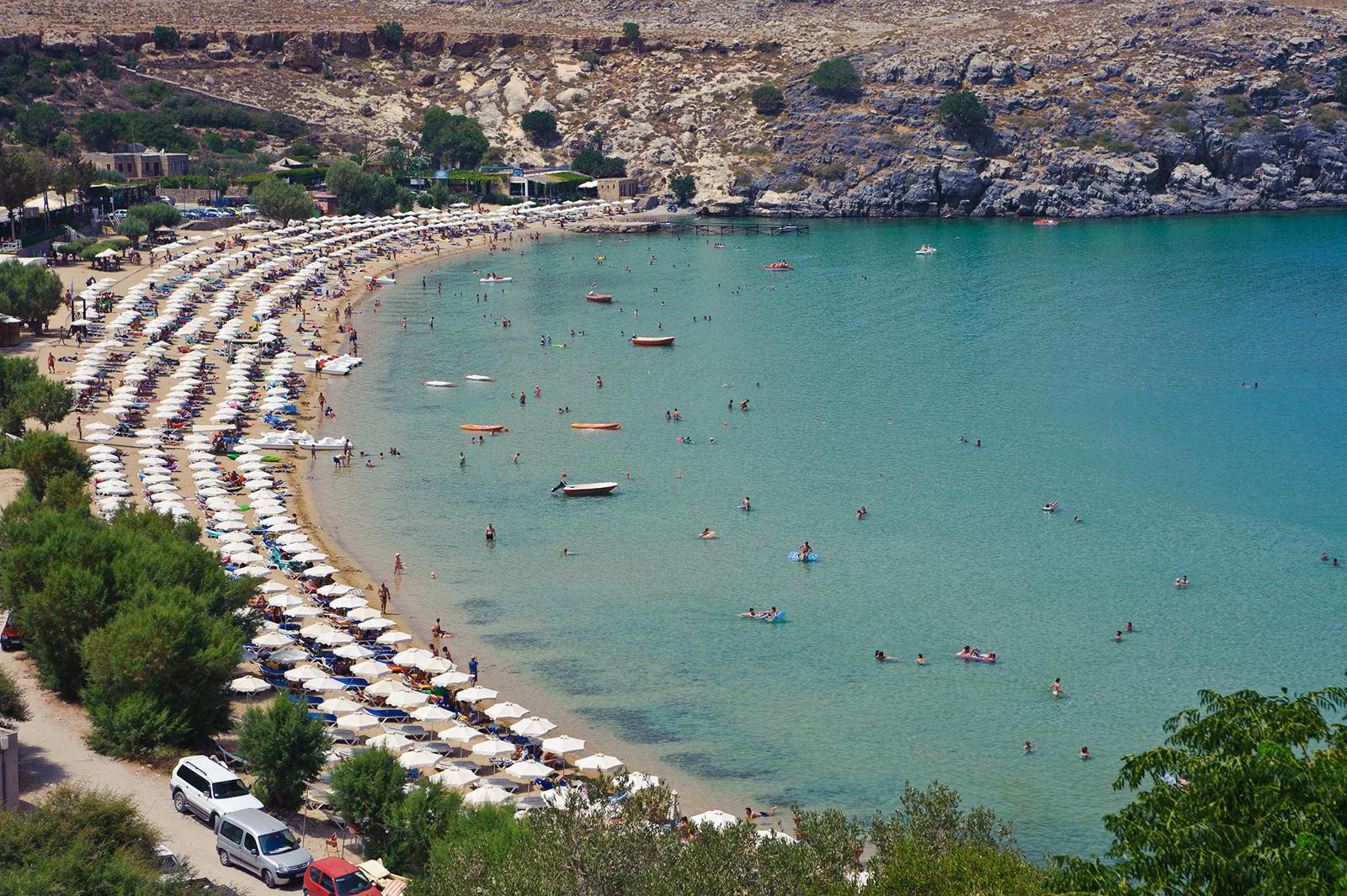 Пляж Линдос